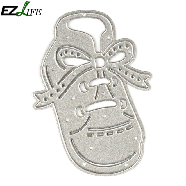 Hollow Bow Tie Shoes Metal Cutting Dies Stencil For DIY Scrapbooking Album Paper Card Die Cuts