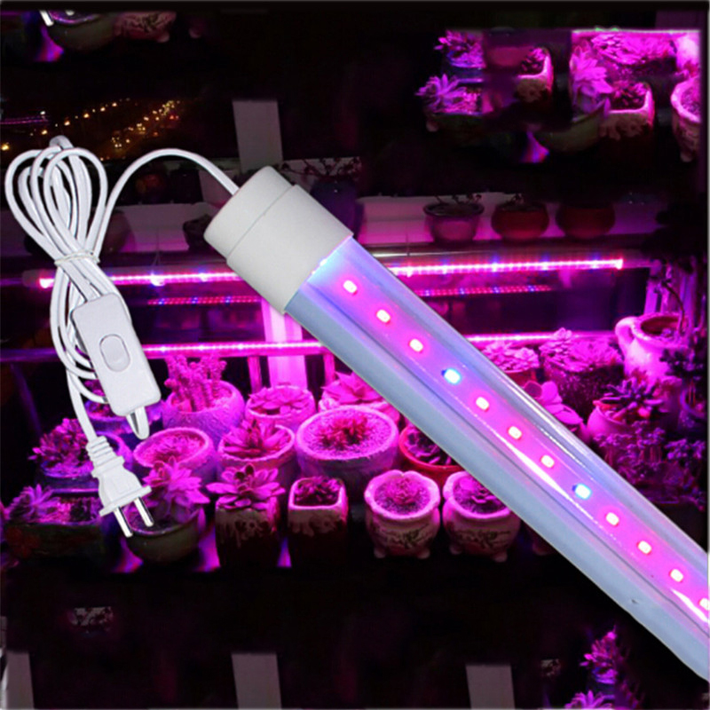Teljes spektrum 6W 10W-os Led Grow Light 660 nm-es vörös és 455 nm-es kék Led lámpa növényekhez Virágot termesztő otthoni kert Grow Box világítás