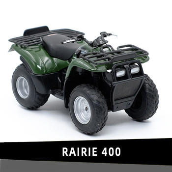 1:18 Alloy RAIRIE 400 motorcycle model,high simulation metal ATV Beach motorcycle toys,free shipping