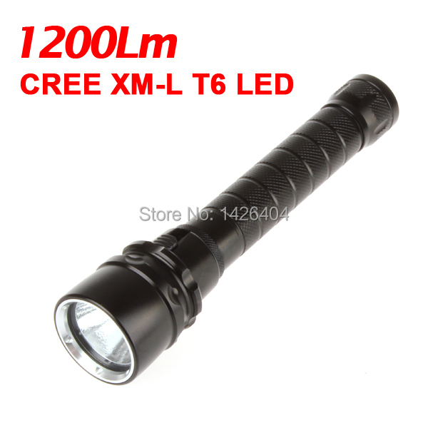 1200 Lumen XML T6 LED Diving Flashlight Torch 50M Underwater Waterproof Diver 18650 LED Flash Light high power 2000 lumen xml l2 led diving flashlight torch waterproof 80m depth underwater diver led flash light lampe torche