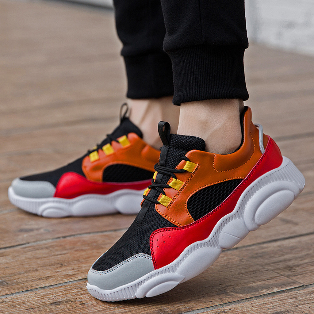Hot Sale Unisex Outdoor Athletic Shoes Men Sport Sneakers
