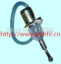 DIESEL SOLENOID 4063712 Generator 6CT 8.3L  Excavator Solenoid Switch, 24V fast shipping 6 5kw 220v 50hz single phase rotor stator gasoline generator diesel generator suit for any chinese brand