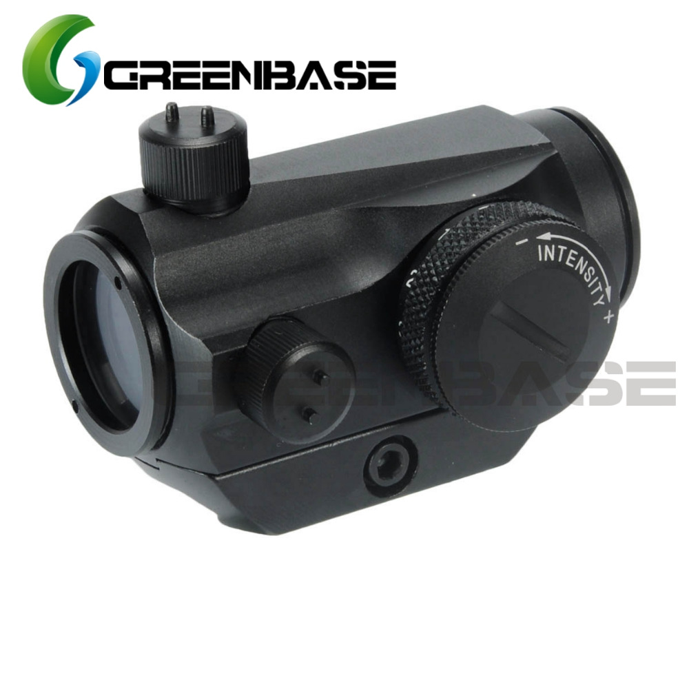 Greenbase Tactical Micro 1X24 Mini Red Green Dot Sight Scope Hunting Optic Riflescopes 20mm CNC Low