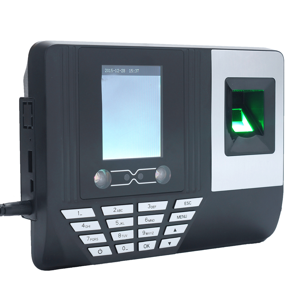US $73 79 19% OFF|Face Fingerprint Password Attendance Machine Biometric  Recorder Face Recognition Time Attendance Clock Machine EU-in Time  Recording