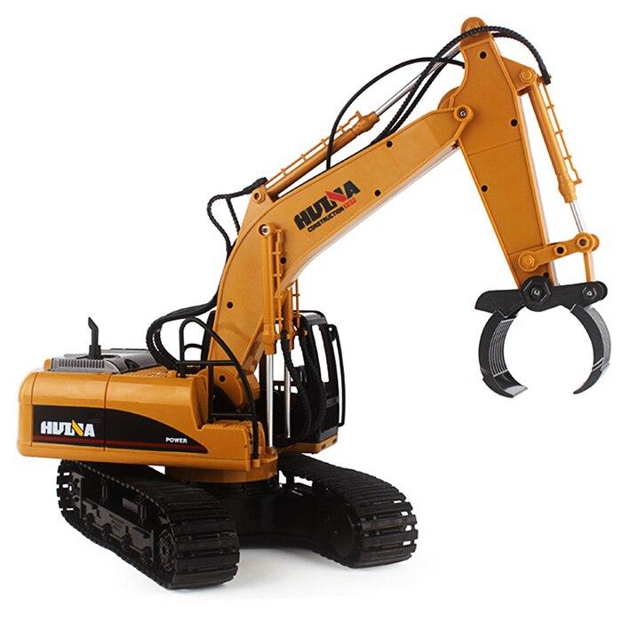 HUINA 1570 1:14 2,4 GHz 16CH RC Alloy Log Grabbing Maschine Mit unabhängige Arme RC Log Grabber 360 Grad Spin Tank Lauffläche Stamm