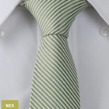 """Оливковый полосатый однотонный мужской жаккардовый тканый тонкий узкий 2,"""" галстук 6,5 см галстук свадебный галстук LT120"""
