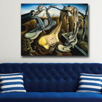 Wall Art Salvador Dali Depict a night Painting For Living Room Home Decor Oil Painting on Canvas Wall Painting Unframed 1