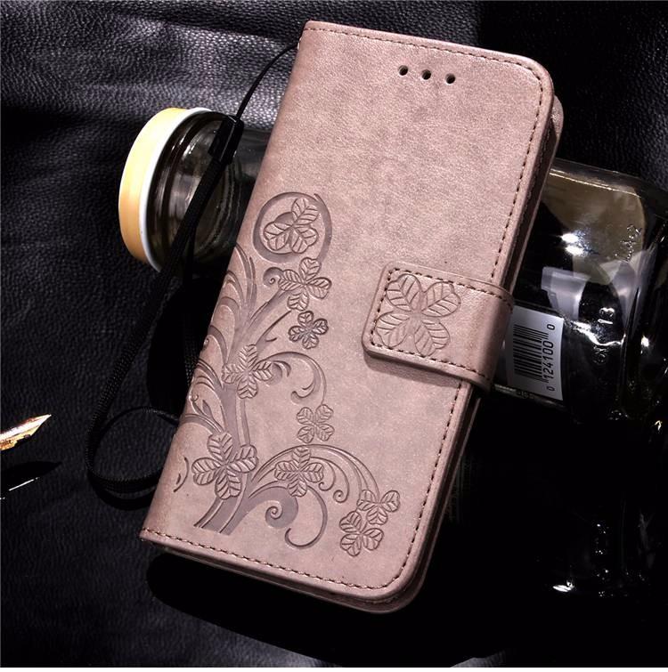 Cztery Liść Koniczyny Skrzynka dla Huawei P9 Okładka Huawei P9 Lite odwróć Wallet Case dla Huawei Hoesjes P9 Plus Telefon Coque PU skóra 13