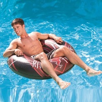 96cm Men Swimming Ring Inflatable Tube Life Buoy Pool Float Summer Water Toys Air Mattress with Handle Surf Seat Boia Piscina