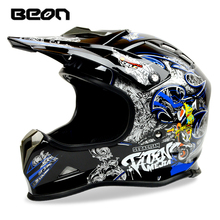 New design BEON capacete motorcycle helmet ECE approved dirt bike off road helmet mens racing motocross helmet