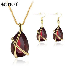 Crystal Women Color Jewellery