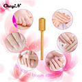 CkeyiN 2Pcs Tungsten Steel Dome Top Electric Nail File Drill Bits Nail Art Grinding Stone Head Nail Salon Manicure Polish Tools