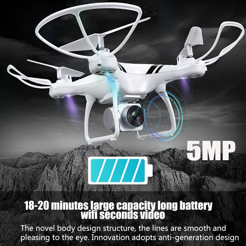 KY101S RC Drone with Wifi FPV HD Adjustable Camera Altitude Hold One Key Return/Landing/ Off Headless RC Quadcopter Drone sterilizzatore ad ultrasuoni