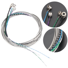 Double Bass String Set 3/4 & 4/4 Size German Silver E-A-D-G Double Bass Strings fit for orchestra, jazz & bluegrass