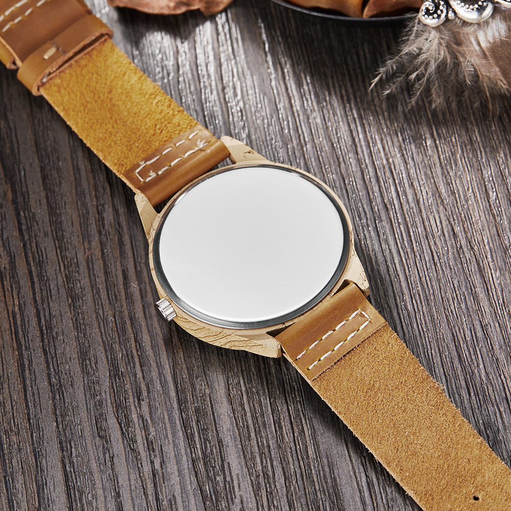 Imitation Wood Watch Men Women Quartz Imitate Wooden Watch Ostrich Deer Man Wristwatch Soft Leather Band