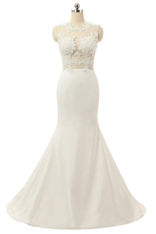 Real Picture Mermaid Wedding Dress Zipper Feather Ruffles Organza Full Ruffles Bride Dress Sereia Wedding Dress 2019