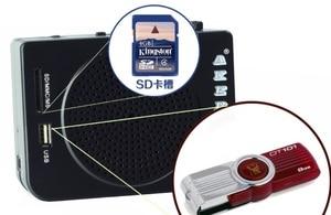 Image 5 - AKER AK28 loudspeaker wireless remote control high power amplifier 16w