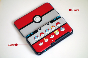 Image 2 - Matte Protector Cover Plate Protective Case Housing Shell for Nintend New 2DS LL/ New 2DS XL for Doraemon MHX