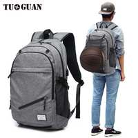 Outdoor Men's Sports Gym Bags Basketball Backpack School Bags For Teenager Boys Soccer football bag Ball Net charging backpack