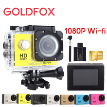 GOLDFOX 1080P Full HD Action Camera 12MP 30M Diving Go Waterproof Pro Hero 3 Style Sport Dv Bike Helmet Cam Camera