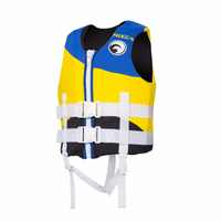 Gilet de sauvetage professionnel pour enfants gilet de sauvetage pour la dérive nautique survie pêche veste de sécurité vêtements de Sport nautique