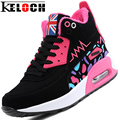 Keloch 2016 Formadores Mulher Andando Sapatos Ao Ar Livre Respirável Inverno Quente Mulheres Casual Shoes Lace-Up Neve Shoes Zapatillas Mujer