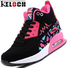 Keloch 2016 Trainers Breathable Outdoor Woman Walking Shoes Winter Warm Women Casual Shoes Lace-Up Snow Shoes Zapatillas Mujer