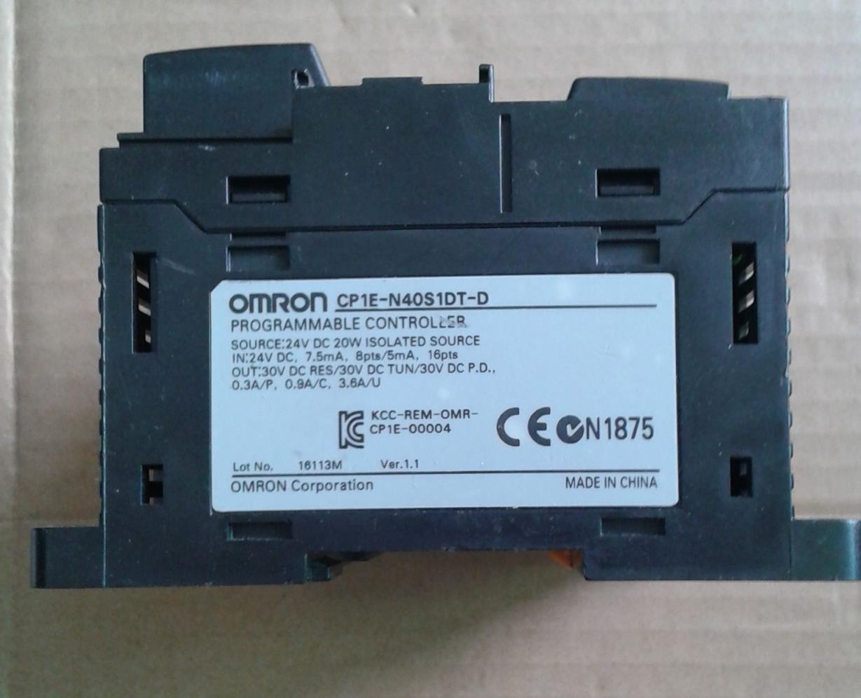 New original cp1e n40s1dt d cp1e plc cpu for omron sysmac 40 i