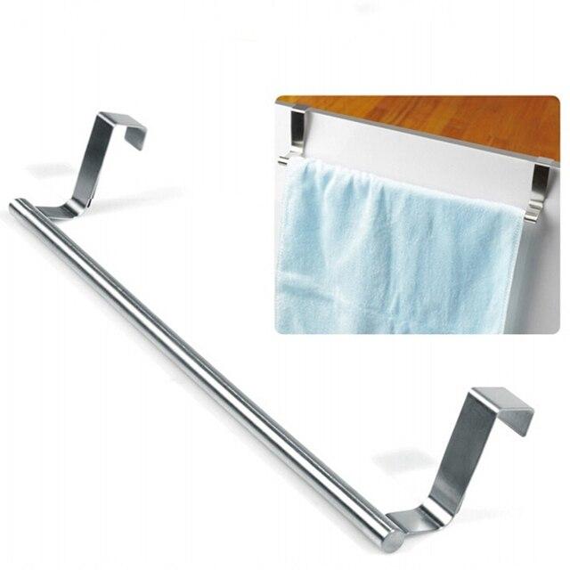 hand towel hanger. Beautiful Hanger Stainless Steel Cabinet Towel Hanger Overr Door Kitchen Hook Tea Hand  Rail Bar On