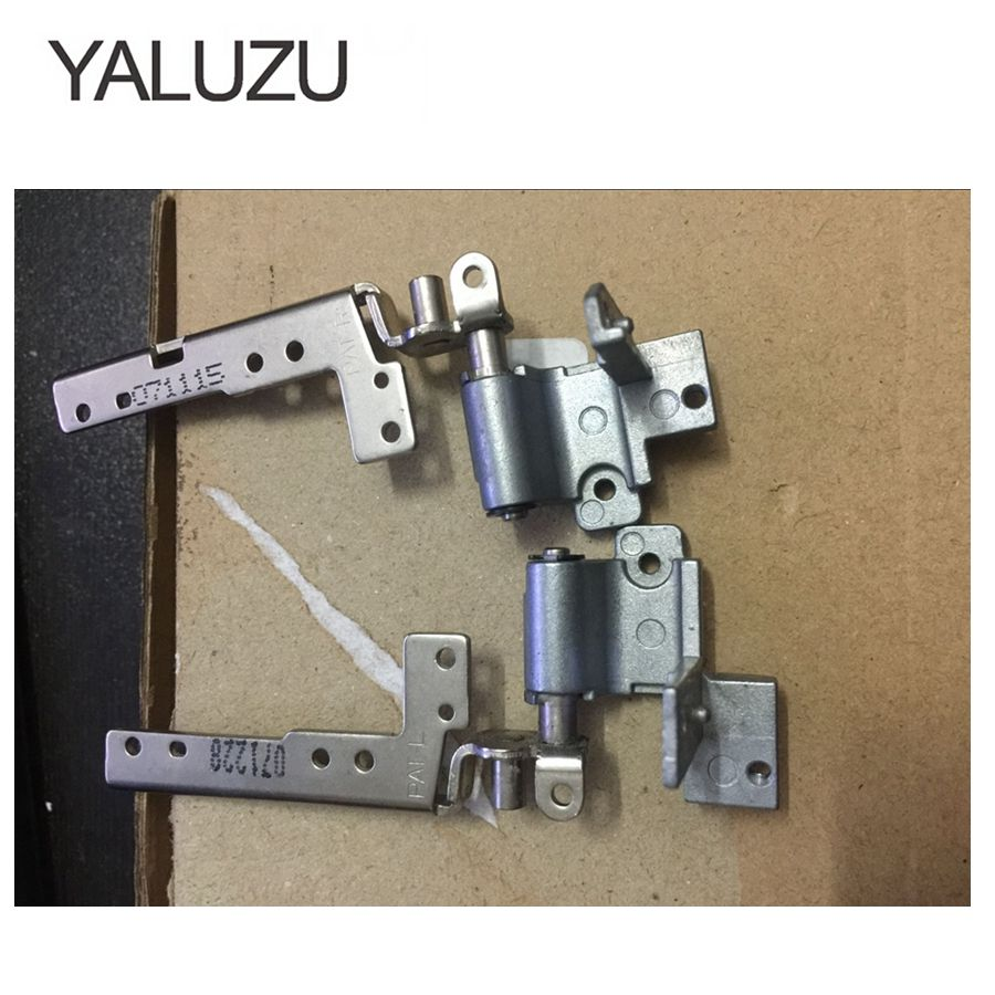 YALUZU LCD Screen Hinges For Sony Vaio VGN AR VGN-AR AR68 AR32 AR320E Series Left & Right 17-inch Laptop LCD Screen Hinges L+R