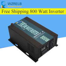 Peak Full Power 800W Solar Inverter Pure Sine Wave Inverter Car Power Inverter 12V/24V to 120V/220V DC to AC Voltage Converter 3000w solar inverter 24v to 220v pure sine wave inverter car power auto battery voltage converter 12v 48v dc to 110 120v 220v ac