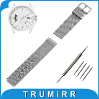 20mm 22mm 24mm Milanese Watch Band Tool For Citizen Stainless Steel Watchband Strap Wrist Belt Bracelet