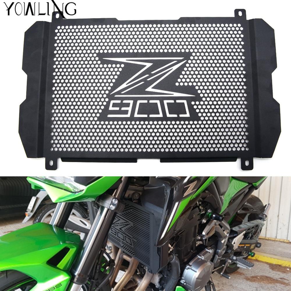 Z900 2017 Motorcycle Radiator Guard Stainless steel Cover Protector Guard For Kawasaki Z900 2017 2018 Radiator