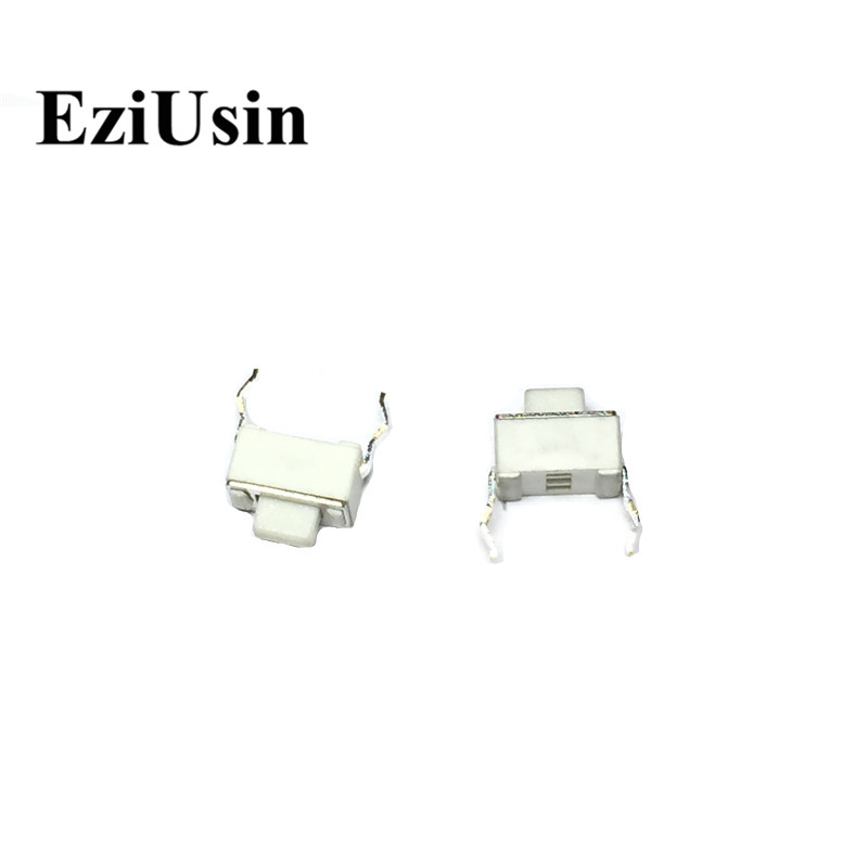 EziUsin 3*6*4.3 White LCD Monitor Keyboard DIP Touch Button Car Remote Control Key Switch Interrupteur Tablette Liquid Crystal