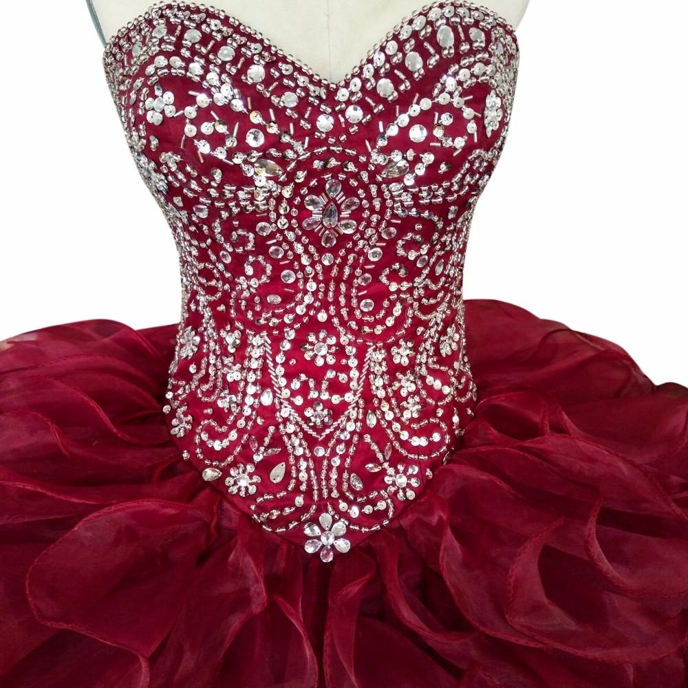 Πολυτέλεια 2017 Φορέματα Quinceanera - Ειδικές φορέματα περίπτωσης - Φωτογραφία 5