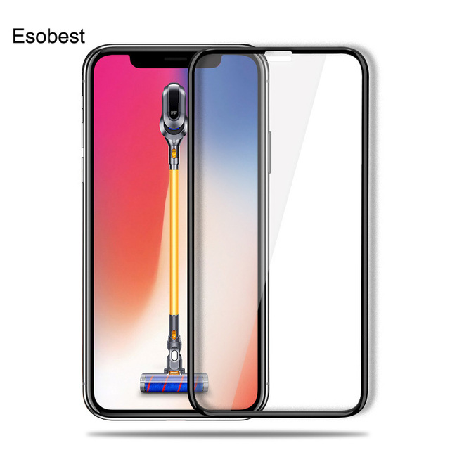 best website ec332 04321 US $4.89 30% OFF|Esobest 3D curved edge Full coverage glass for iphone X  screen protector 9H tempered glass film saver for iphone Xs max XR-in Phone  ...