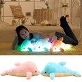 Creativa Activan LLEVADO Luminoso Colorido Brillante Dolphine Regalo Almohada De Felpa