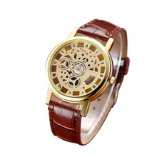 Men Roman numerals Quartz business Watch Fashion Automatic mens leather wristwatch top quality famous waterproof clock vintage