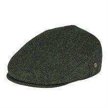 VOBOOM Wool Tweed Flat Cap Herringbone Newsboy Caps Boina Men Women Beret Classi