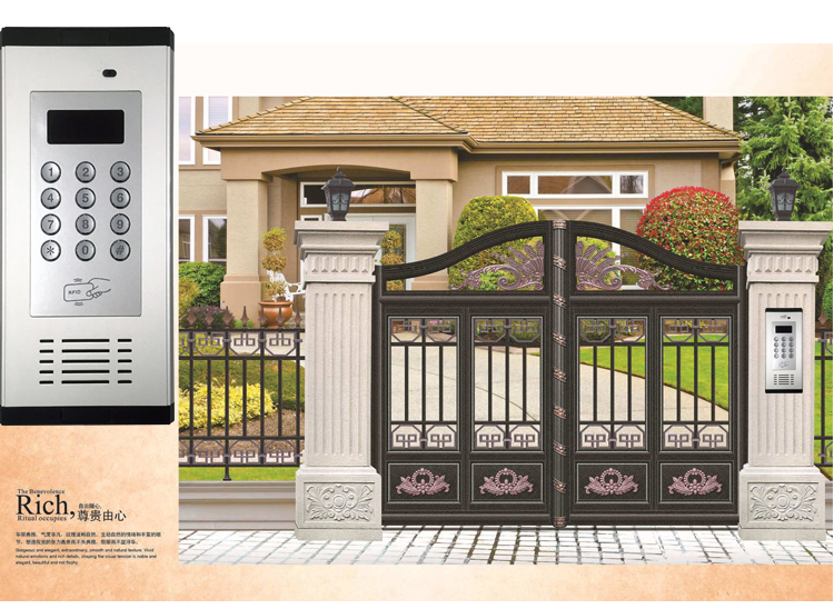 3G GSM Apartment Intercom Access Control System Support to Open Door by Phone Call RFID SMS Command Remote Control Gate Opener_f6