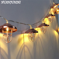 HUANJUNSHI 2M 20 LED Lamp Shade String Light Christmas Lighting Balls Outdoor Lighting For Home