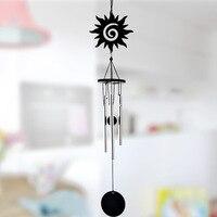Metal Wind Chime Aluminum Tube Music Creative Gifts Home Furnishing Metal Decoration 12*7.5*5CM