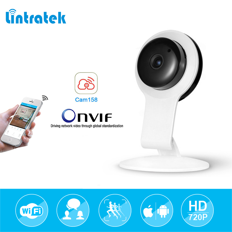 lintratek HD 720P Mini Wifi IP Camera Wireless Baby Monitor CCTV Home Security Surveillance Camera Night Vision Camara Babyphone ihomecam home security camera ip 720p wireless mini surveillance camera wifi 720p night vision cctv camera baby monitor