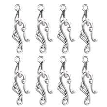 20 Teile/paket S Form Haken Schmuck Zubehör DIY Fit Halskette Armband Schmuck Erkenntnisse, Der Großhandel Für Frauen