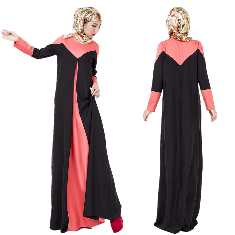 A003 Fashion Design font b Abaya b font For Muslim Ladies 3 colors to choose font