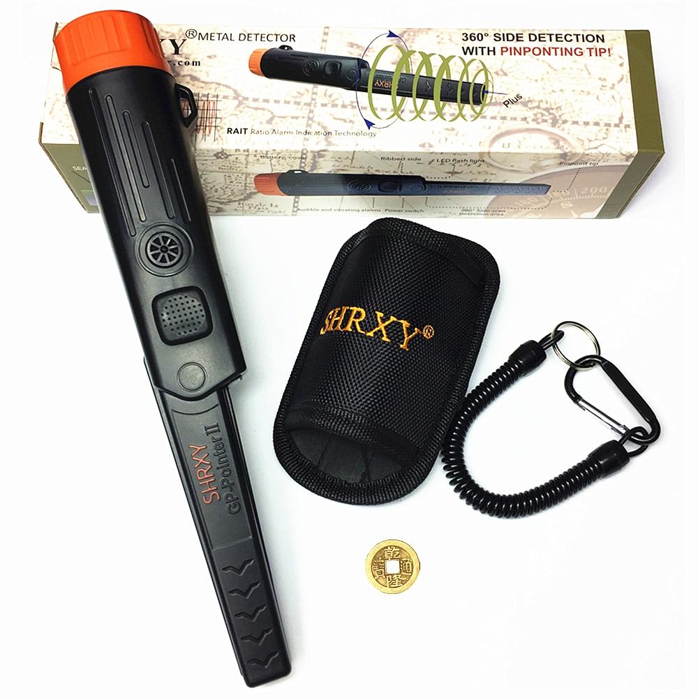 2018 mise à niveau En Métal Détecteur pointeur TRX Pro Identifier GP-pointerII étanche Hand Held Metal Detector avec Bracelet