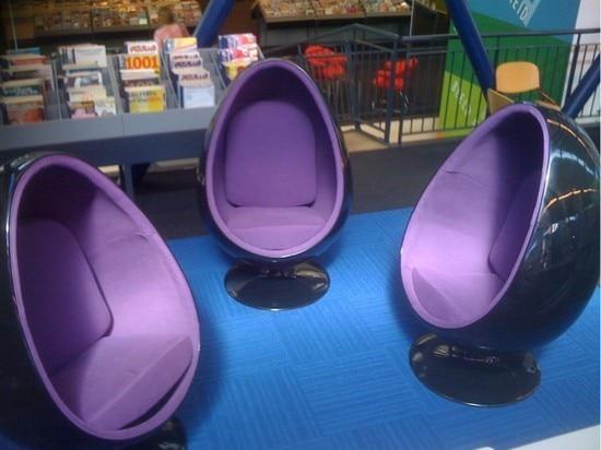 Space chair oval fiberglass eyeball bubble chair stylish simplicity recliner chair egg chair & Space chair oval fiberglass eyeball bubble chair stylish simplicity ...