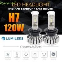 New Arrival 120W 12000LM H7 LED Lamp Headlight Kit Car Beam Bulbs 6000k White Canbus Fe22