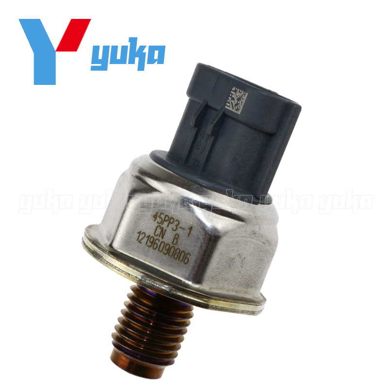 Original Common Rail Fuel Pressure Sensor For Peugeot Boxer Citroen Relay Jumper 2.2 HDI Rover Defender 2.4 1570P1 45PP3-1