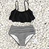 CUPSHE Falbala Push Up Bikini Set Women 2020 Summer Swimsuit Beach Bathing Suit Swimwear Brazilian Biquini monokini